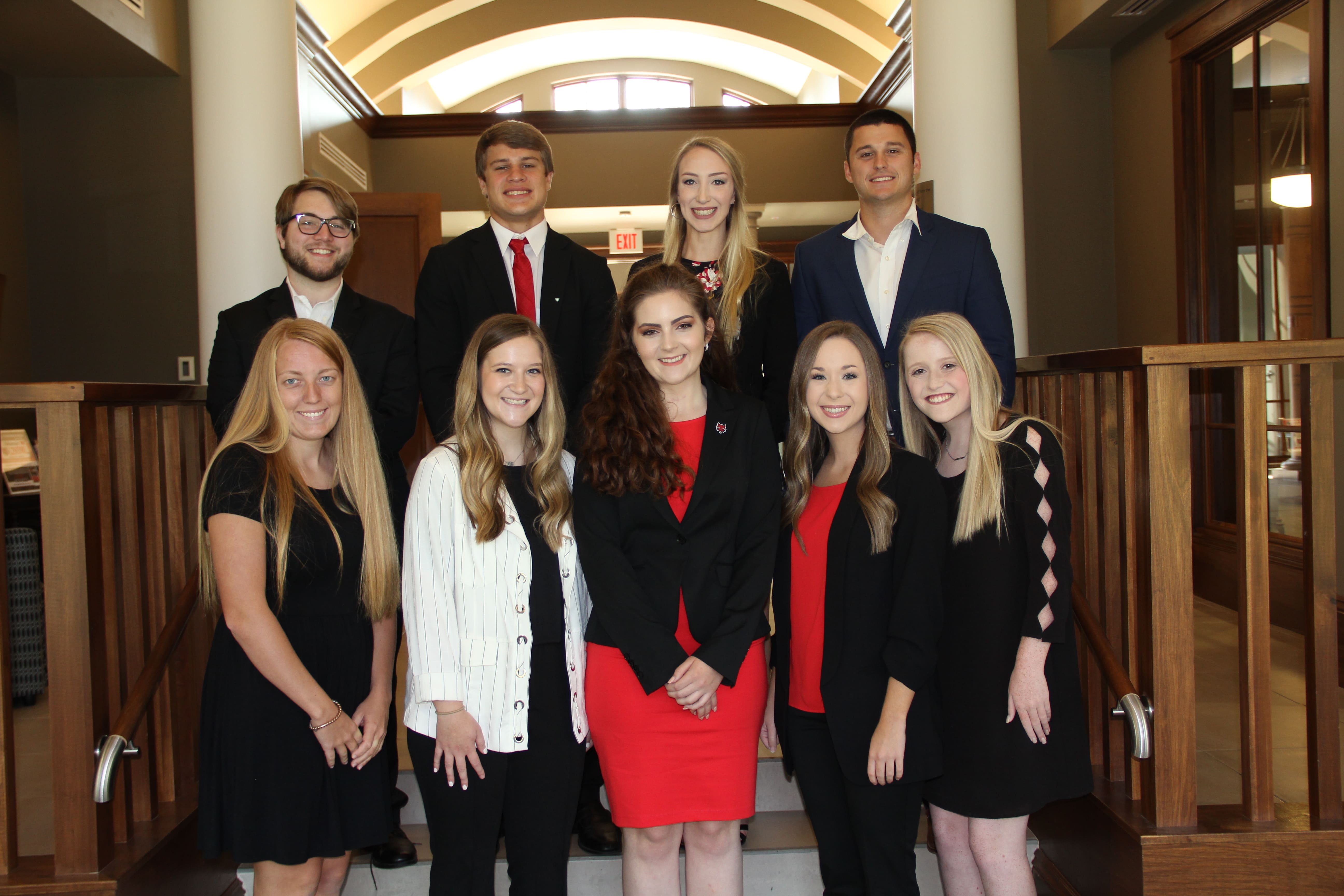 A-State Student Philanthropy Council Executives