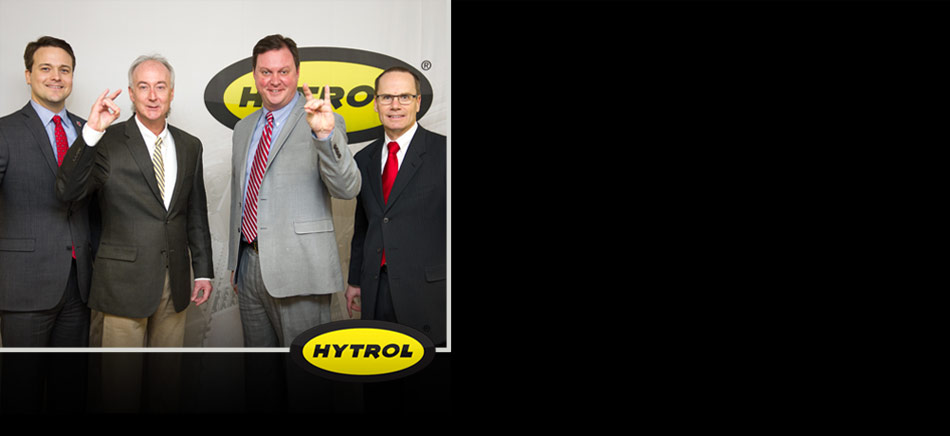Hytrol Executives with A-State Leadership