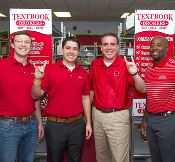 Textbook Brokers Staff, Dean Shane Hunt and David McClain