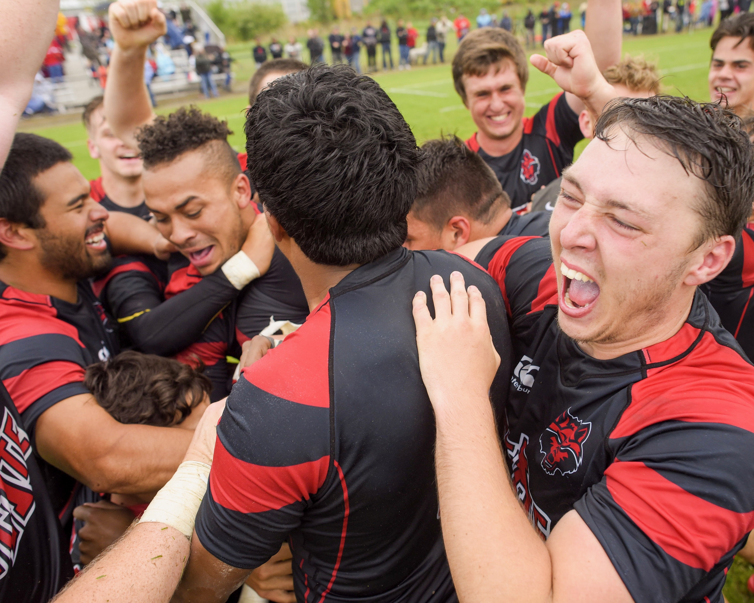 Arkansas State Rugby Celebration