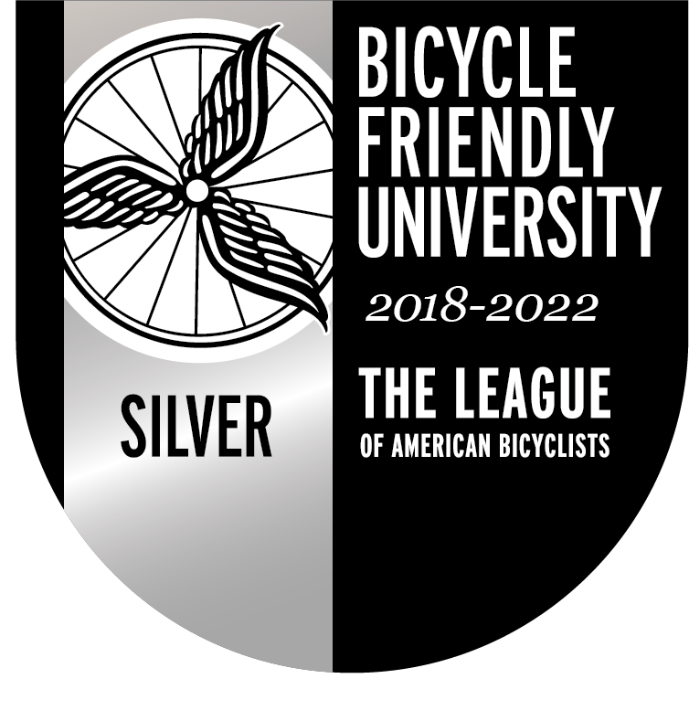 Bicycle Friendly University 2014-2018 The League of American Bicyclists