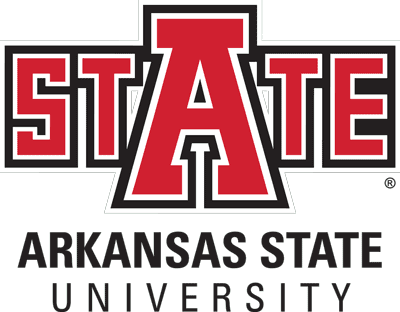 A-State stacked logo