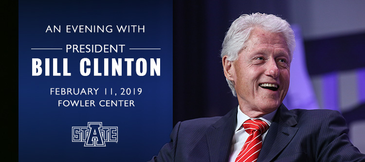 An evening with President Bill Clinton