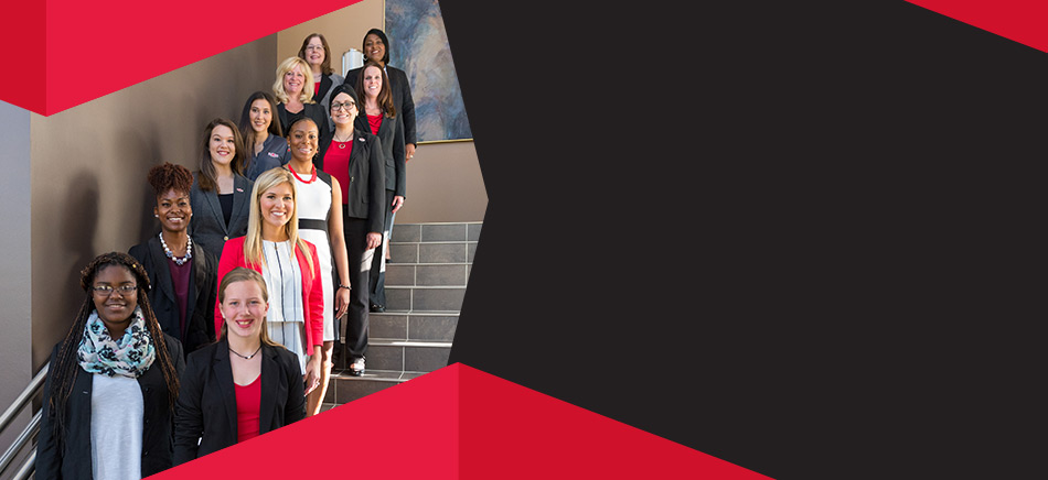 Members of the Women's Business Leadership Center