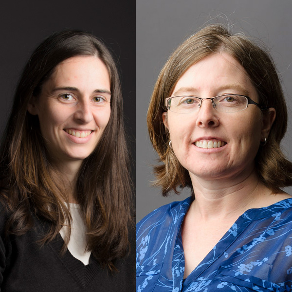 Dr. Virginie Rolland and Dr. Tanja McKay