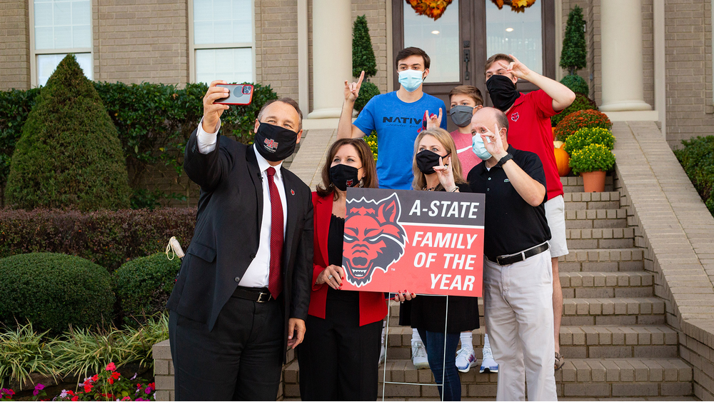 A-State Announces Family of the Year for 2020