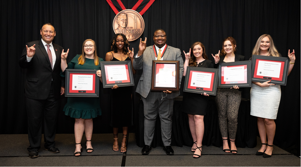 Distinguished Service Award Winners Recognized at Wilson Award Ceremony