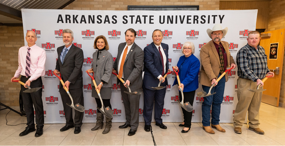 A-State Holds Imboden Disaster Facility Construction Launch