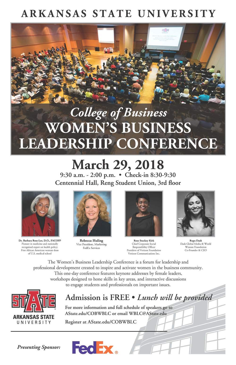 Women's Business Leadership Conference Features Lunch and Learn Sessions