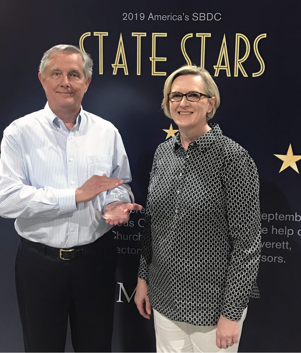 Bahn Recognized as State Star by America's SBDC