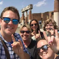 Faculty and Staff Lead Study-Abroad Trips