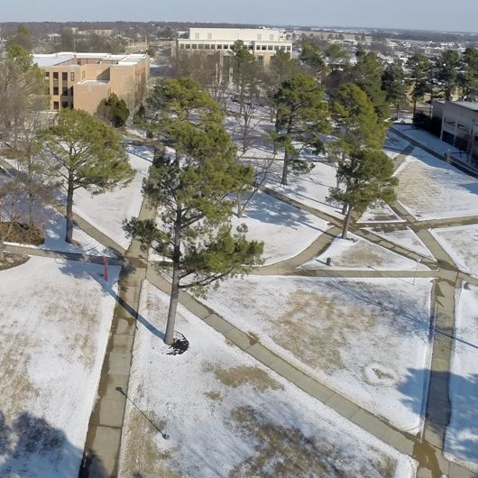 Facilities Staff Moves Fast for Campus Re-Opening