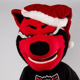 Santa's Wolves Distribute Holiday Cheer