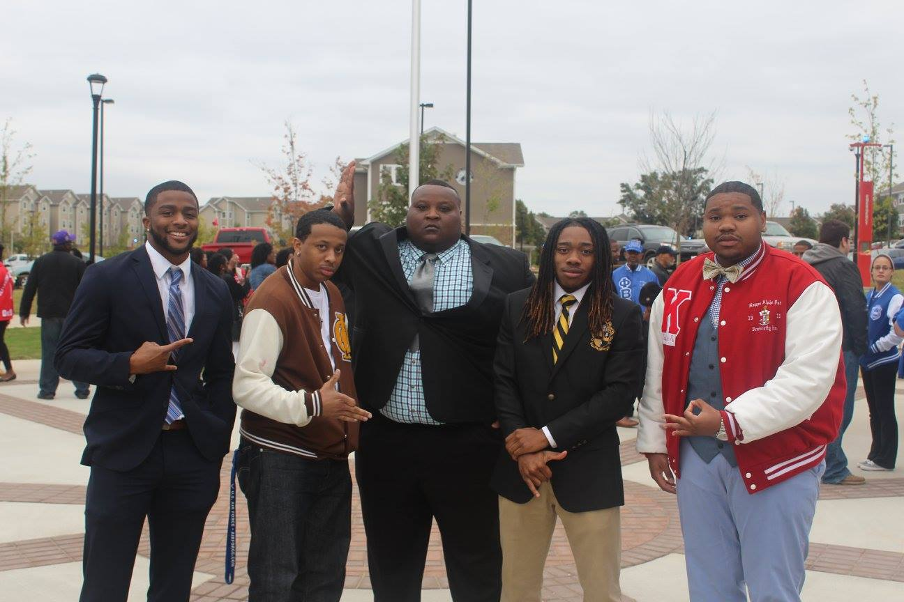 NPHC Greek members on campus
