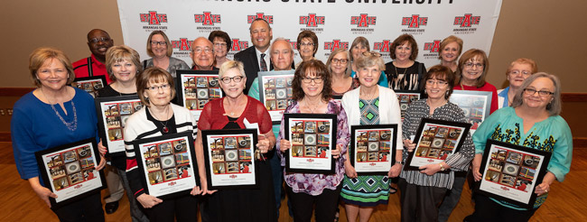 Retiring Staff Members Recognized at 2018 Awards Ceremony