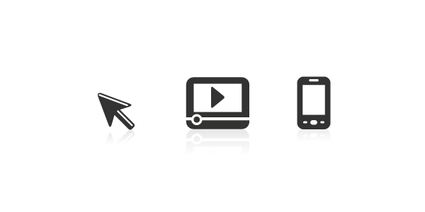 Creative Media Icons Set