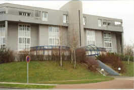 Dorms at Cergy