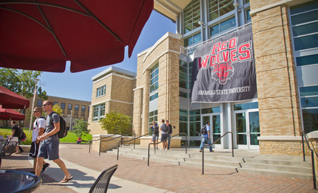 The front of the ASU Student Union