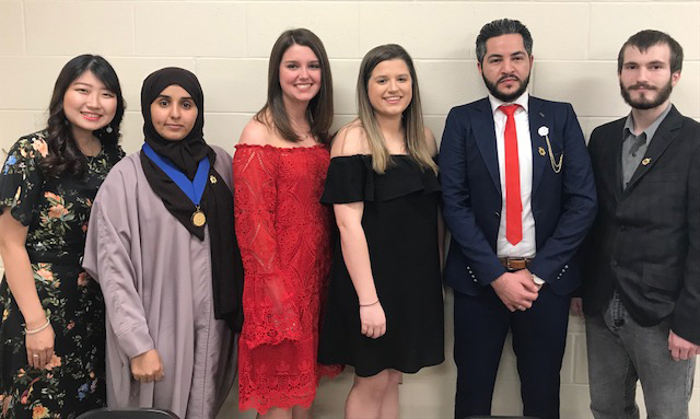 Eight Students Inducted Into Kappa Tau Alpha Honor Society