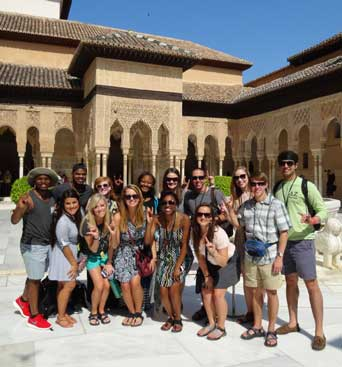 Student Affairs and International Programs Facilitate Service and Learning Trip to Spain
