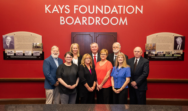 Kays Foundation Unveils New Signage at Cooper Center