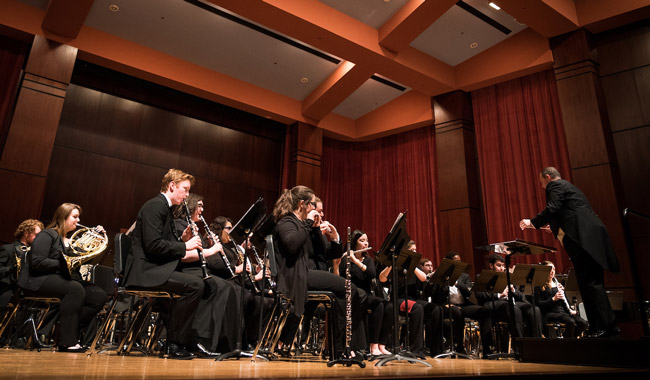 Wind Ensemble and Symphonic Winds to Perform in Concert