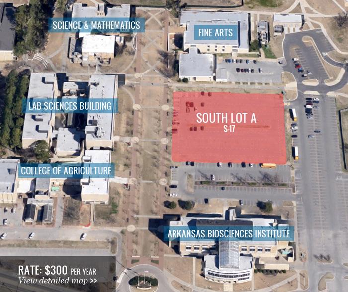 Asu Jonesboro Campus Map.Contract Parking