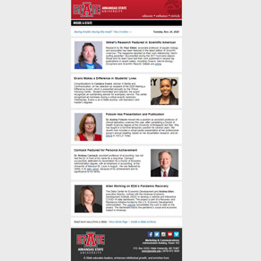 Inside A-State Welcomes Ideas and Tips