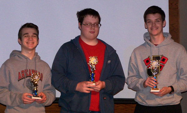 Winners in 41st Annual NEA Regional Math Contests