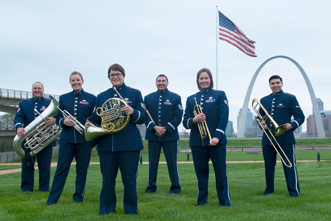 Air Force Airlifter Brass to Perform in Lecture-Concert Series