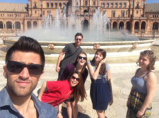 Honors Students Spain Study Abroad