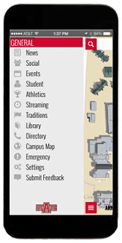 Latest A-State Info in SmartCampus