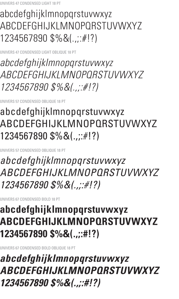 Official Fonts