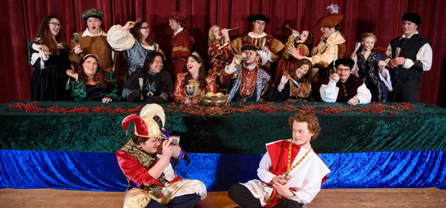 Department Of Music to Present 2017 Madrigal Feaste