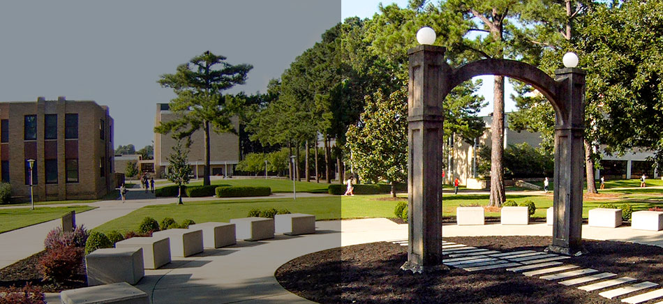 The Arch on the A-State Campus