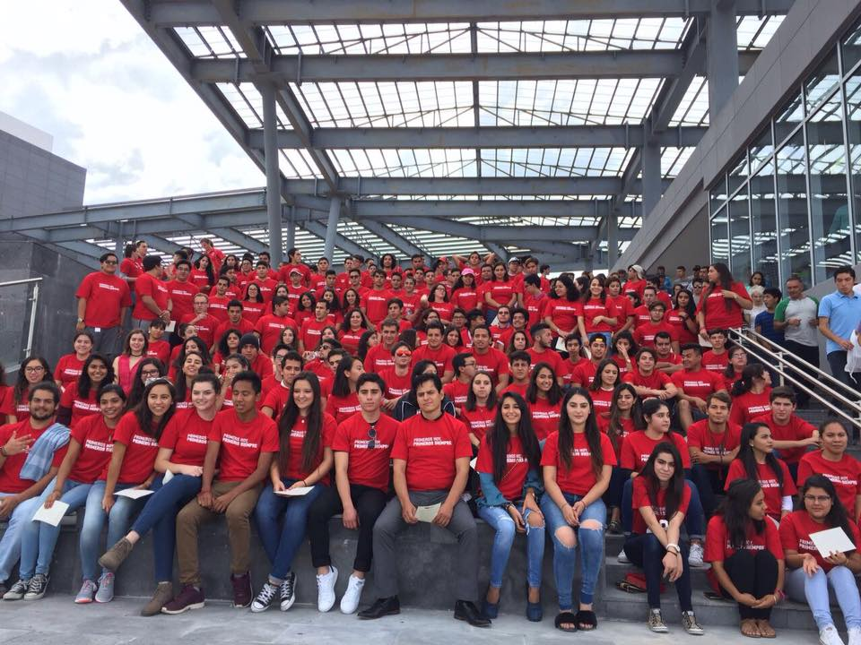 Campus Queretaro students