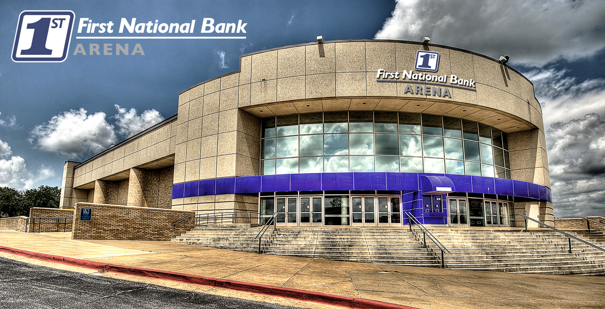 A rendering of First National Bank Arena