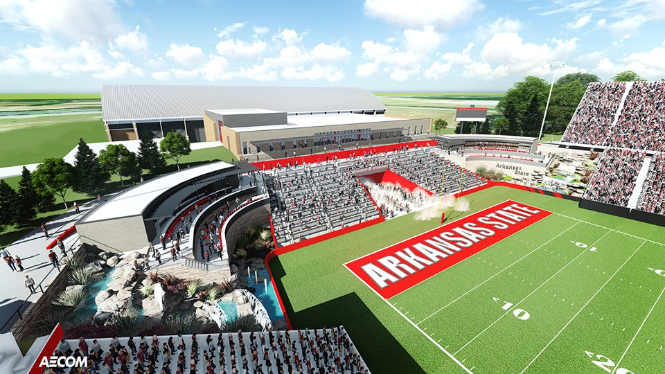 North Endzone Expansion