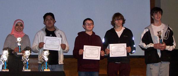 ACTM-Geometry contest winners