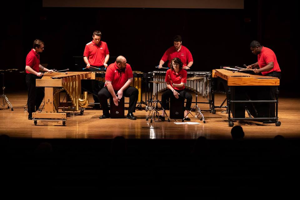 Percussion Ensemble 2018 Catching Shadows