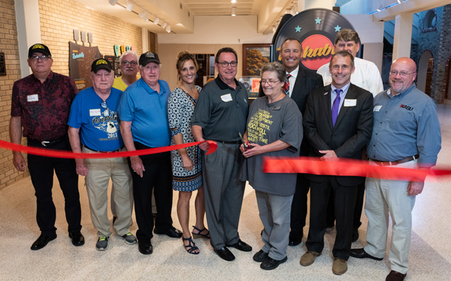 Rockabilly Exhibit Ribbon Cutting ceremony