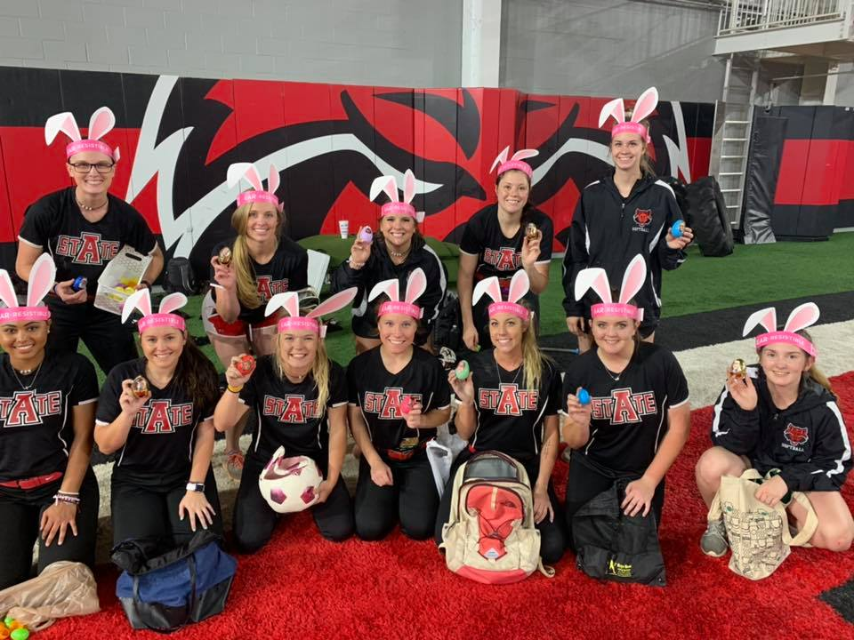 Softball at Easter