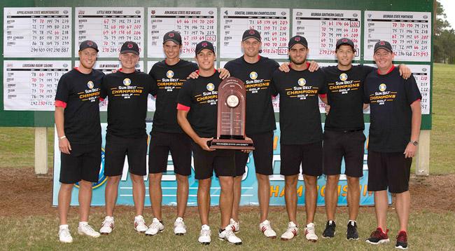 Sun Belt Golf Championship Team