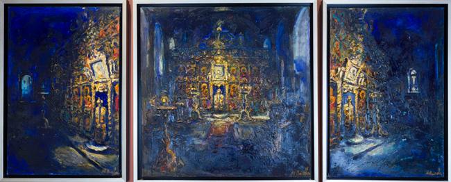 Iconostasis by Maria Raycheva