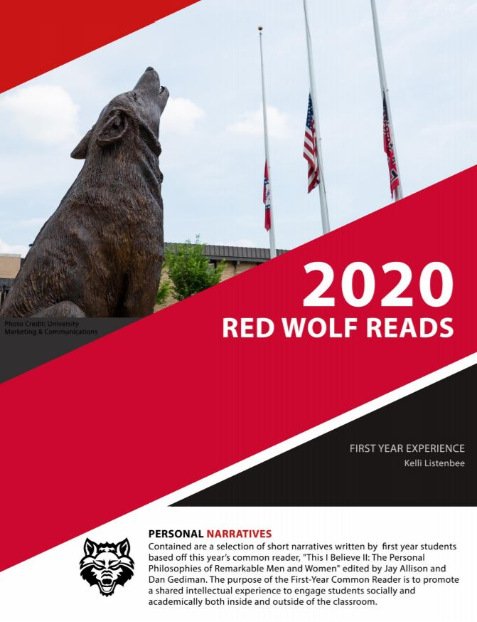 Red Wolf Reads cover