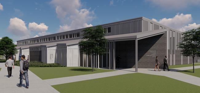 Windgate Center rendering