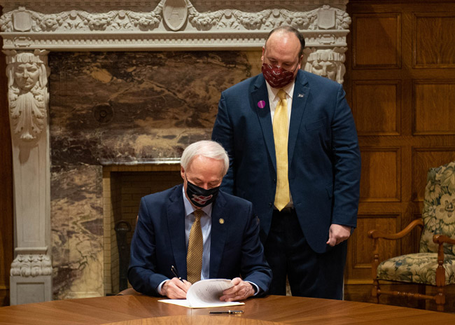 Governor Signs Act 18