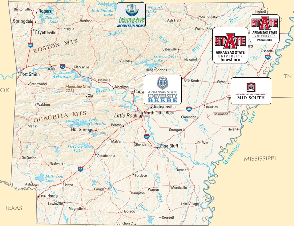 Distance Education Map