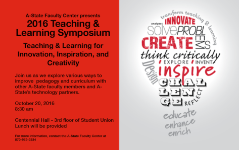 Faculty Center's Teaching & Learning Symposium