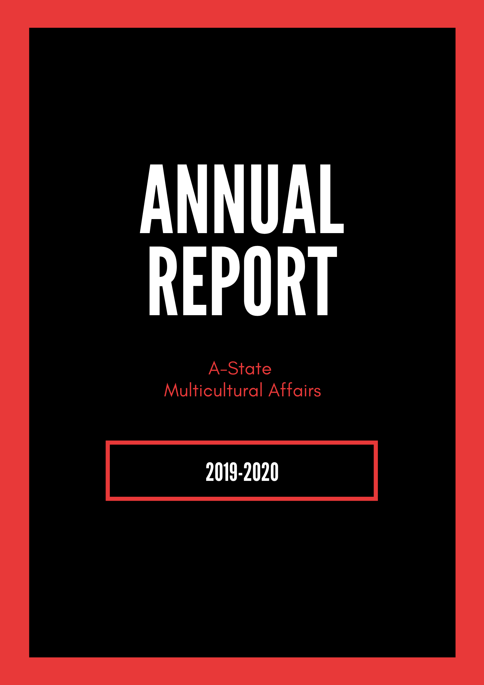 Annual Report Title Page